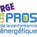 logo pro performance énergétique rge